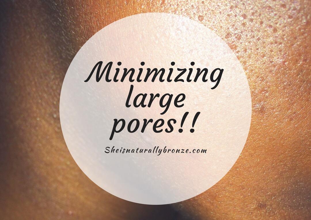 Pores! Pores!! Pores!!! | Minimizing large pores.