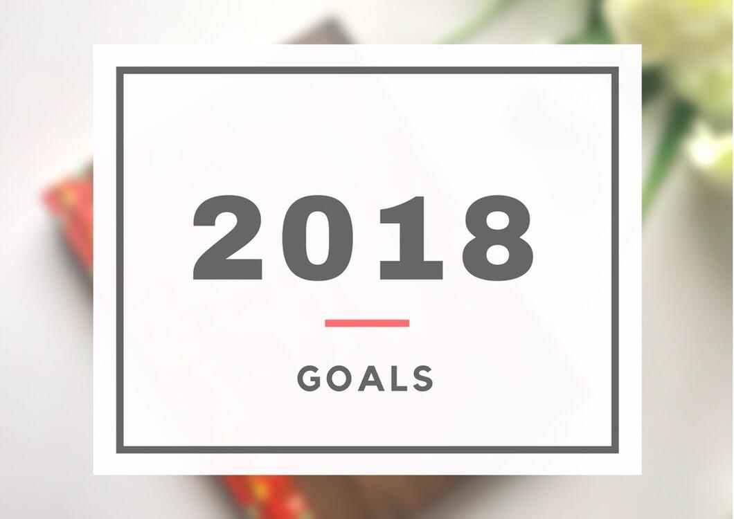 2018 in Goals + 2017 Recap