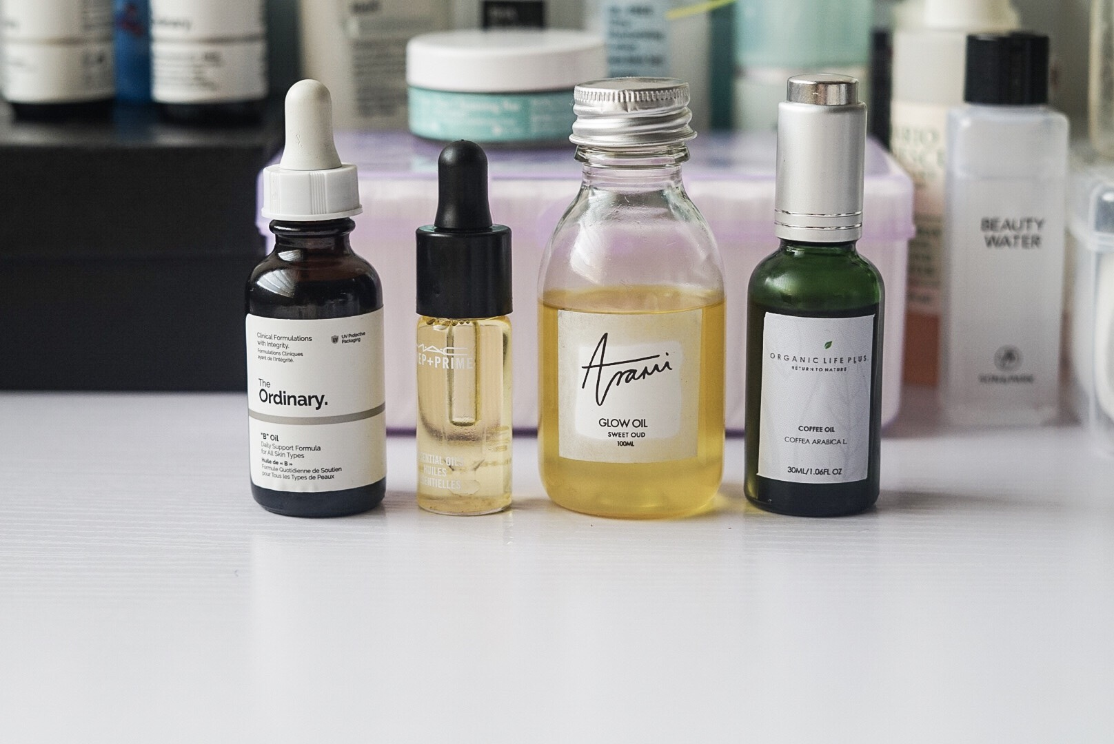 Oils that support healthy skin