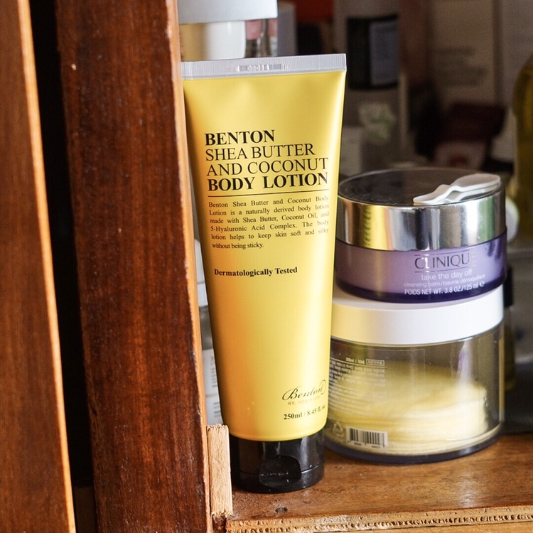 Benton Shea Butter and Coconut Body Lotion*