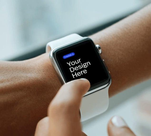 免費apple watch 樣機mockup | shejie