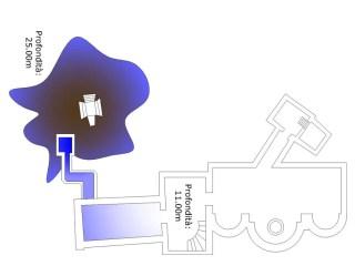 Cronaca VV - Pianta monastero-Secondo piano ST