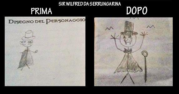 Master ho disegnato il PG