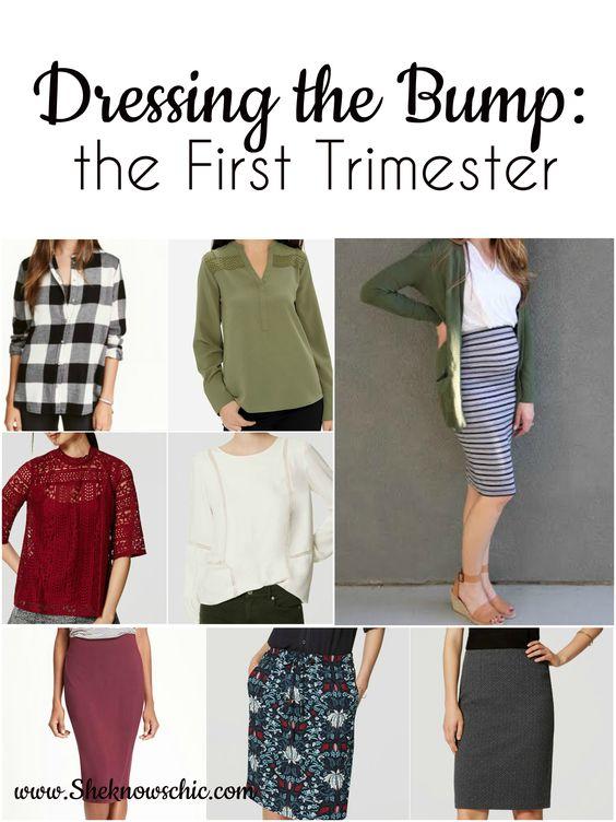 Dressing the Bump: First Trimester