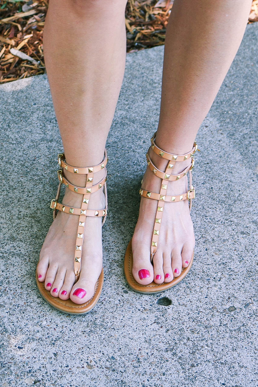 She Knows Chic On a Budget: Gladiator Sandals