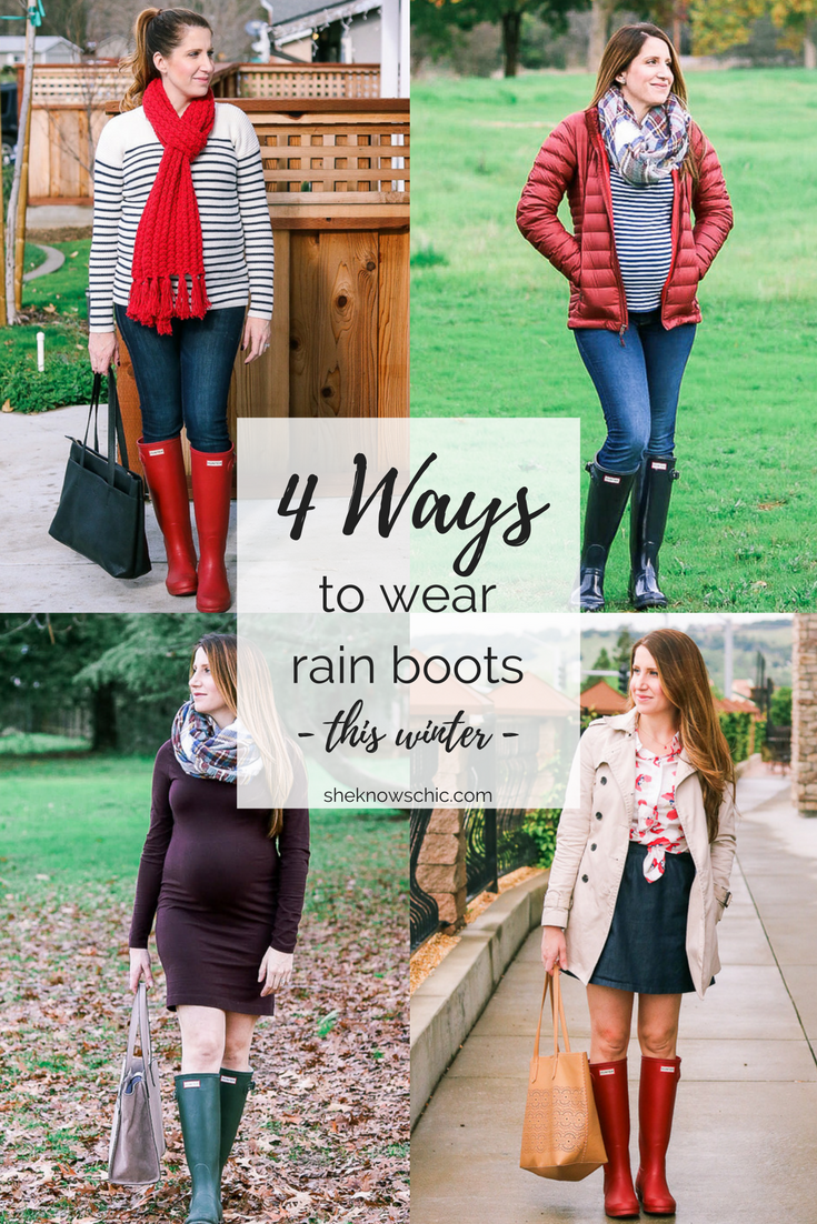 4 Ways to Wear Rain Boots This Winter