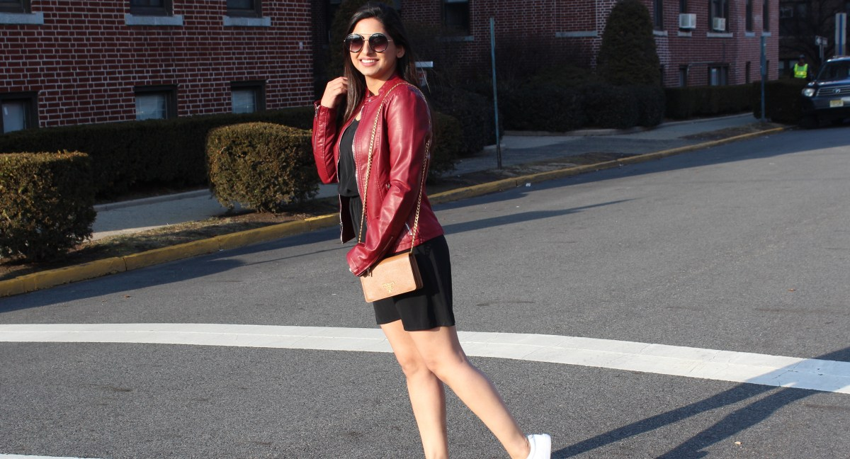 5 ways to wear a leather jacket - how do you style yours? - She Labels Everything
