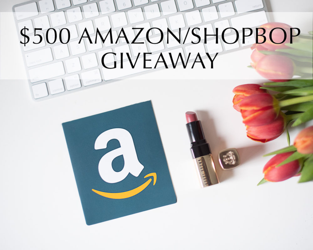 GIVEAWAY CLOSED —- $500 Amazon or Shopbop Giveaway!! Enter soon to win! - She Labels Everything