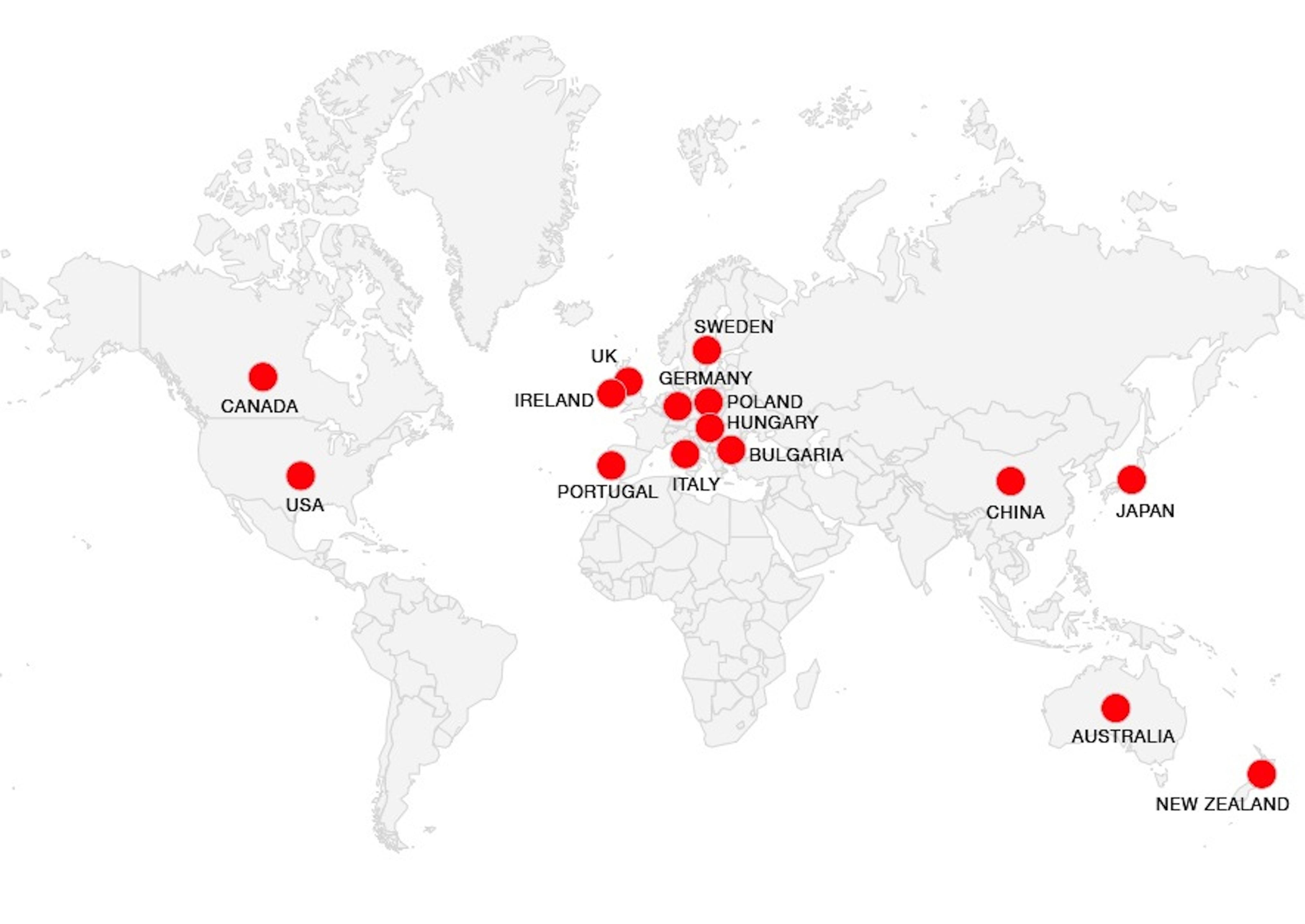World art map: where's my art?