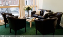 Waiting Area at Shelbourne Dental Clinic