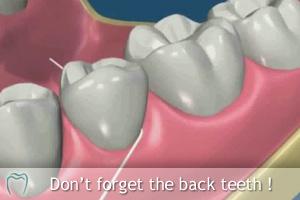 Floss Your Back Teeth