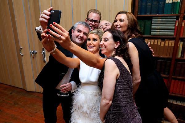 Shelbourne Team Selfie