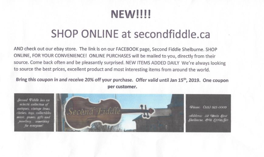 Going Global The Second Fiddle Now Online The Shelburne Freelancer