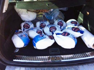 2015 Turkeys Donation to Shelburne Christmas Hampers