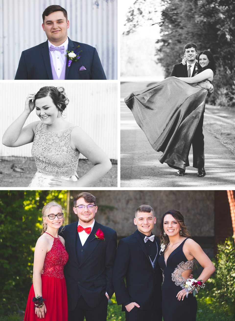 Teen Prom Portraits Shelby Andal photography