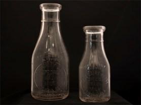 Kent Dairy Farm Milk Bottles