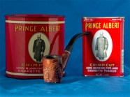 Prince Albert Tobacco and Pipe
