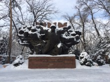 Monument to Kazakh soldiers