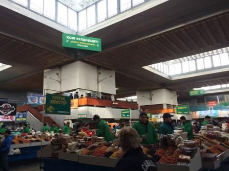 Vendors at the Green Market