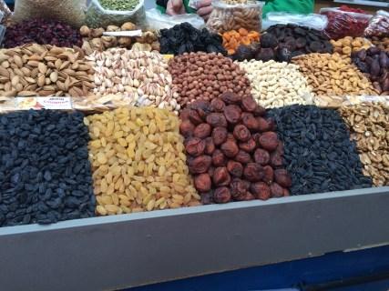 Taste testing at the Green Market