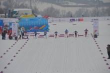 Sprint start (I am the far right)