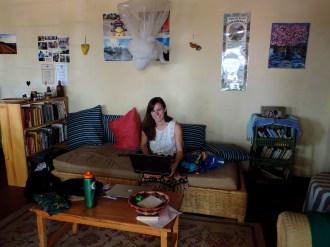 Rachel Relaxing