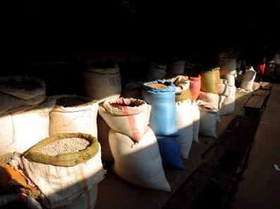 Sacks of Legumes