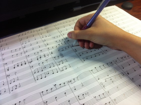 I couldn't give up on composing even if I wanted to...