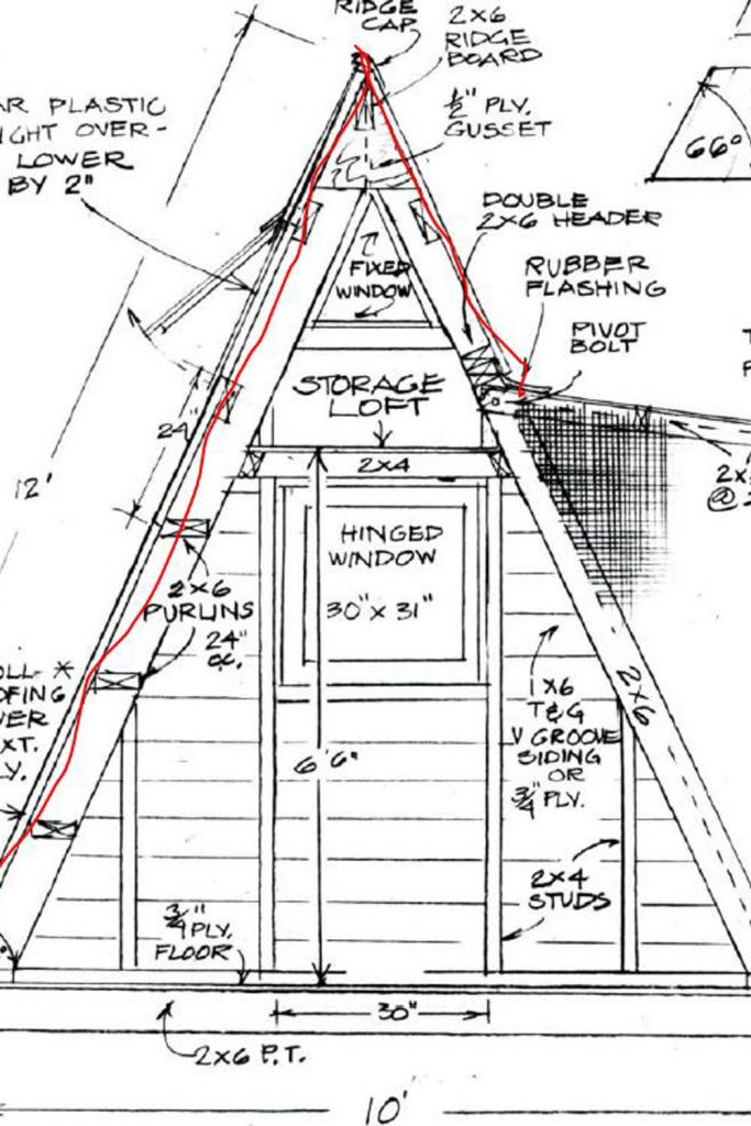 How We Built the A-Frame Shelby Shack Tiny House: 1- The