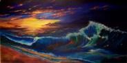 Rainbow ocean