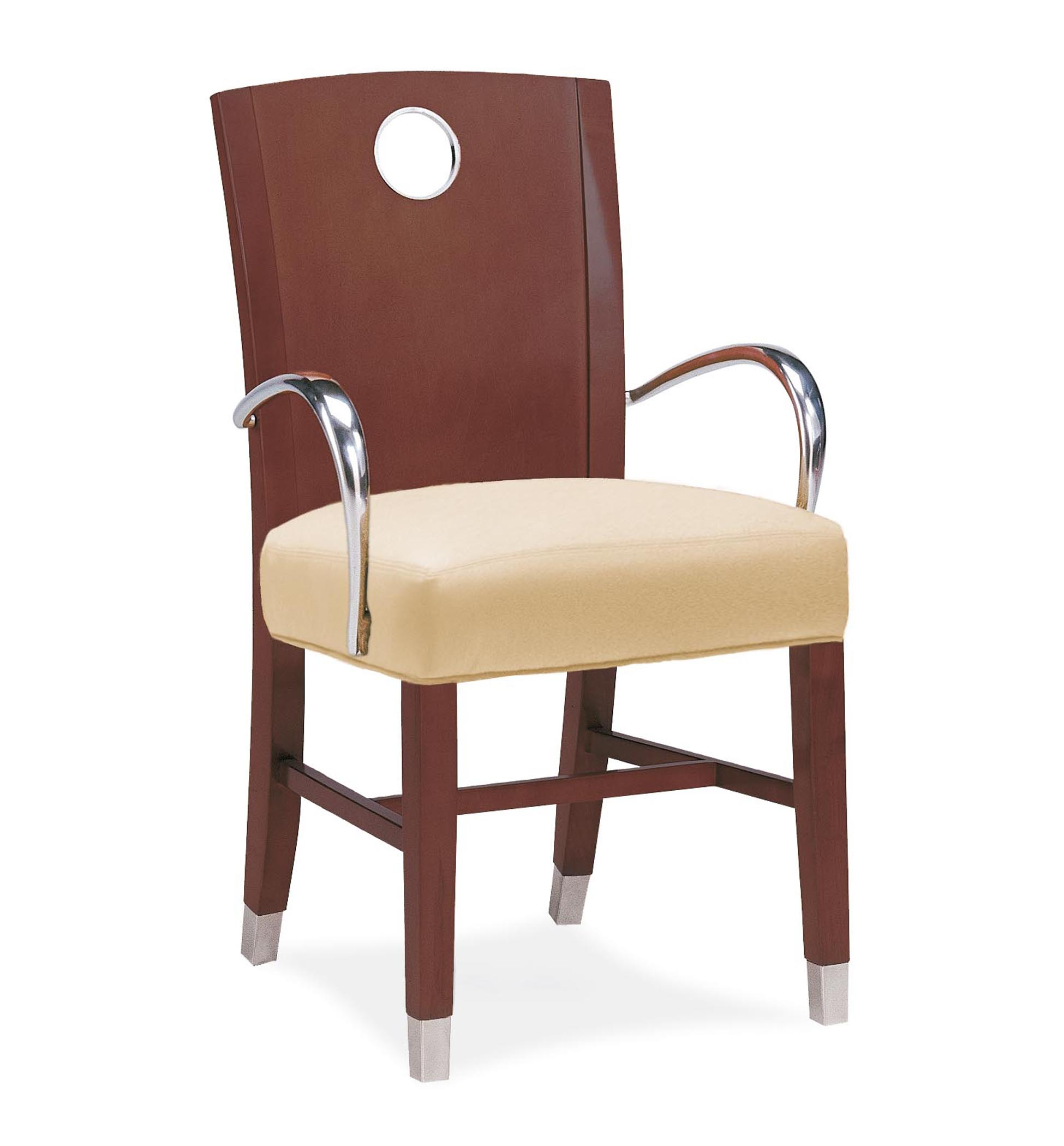 Wooden Arm Chair 2355 Wood Arm Chair