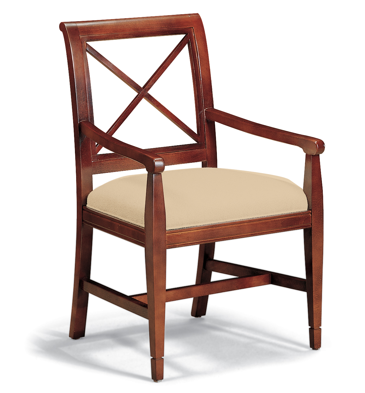 Wooden Arm Chair 4007 Wood Arm Chair