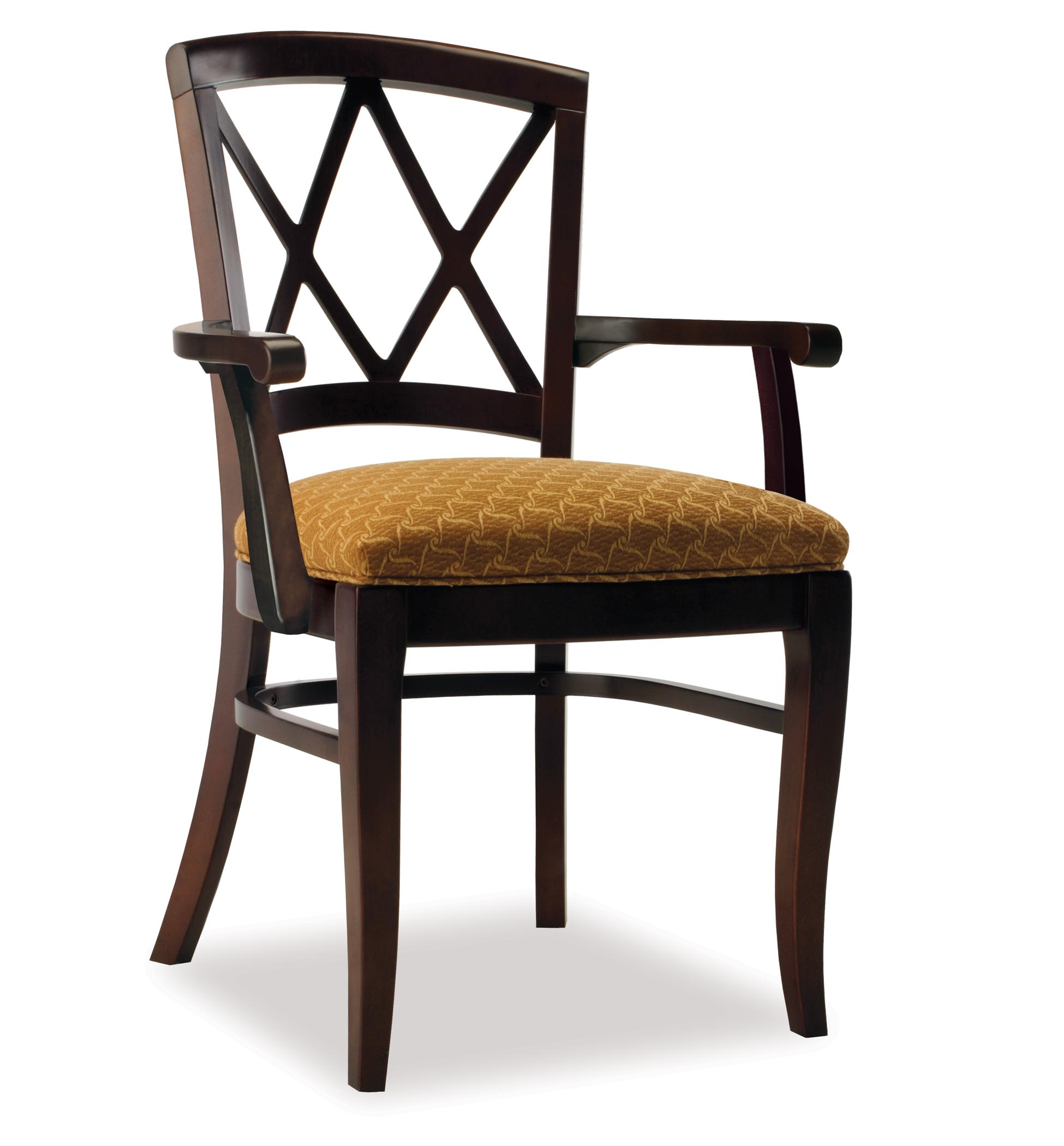 Wooden Arm Chair 4311 1 Wood Arm Chair
