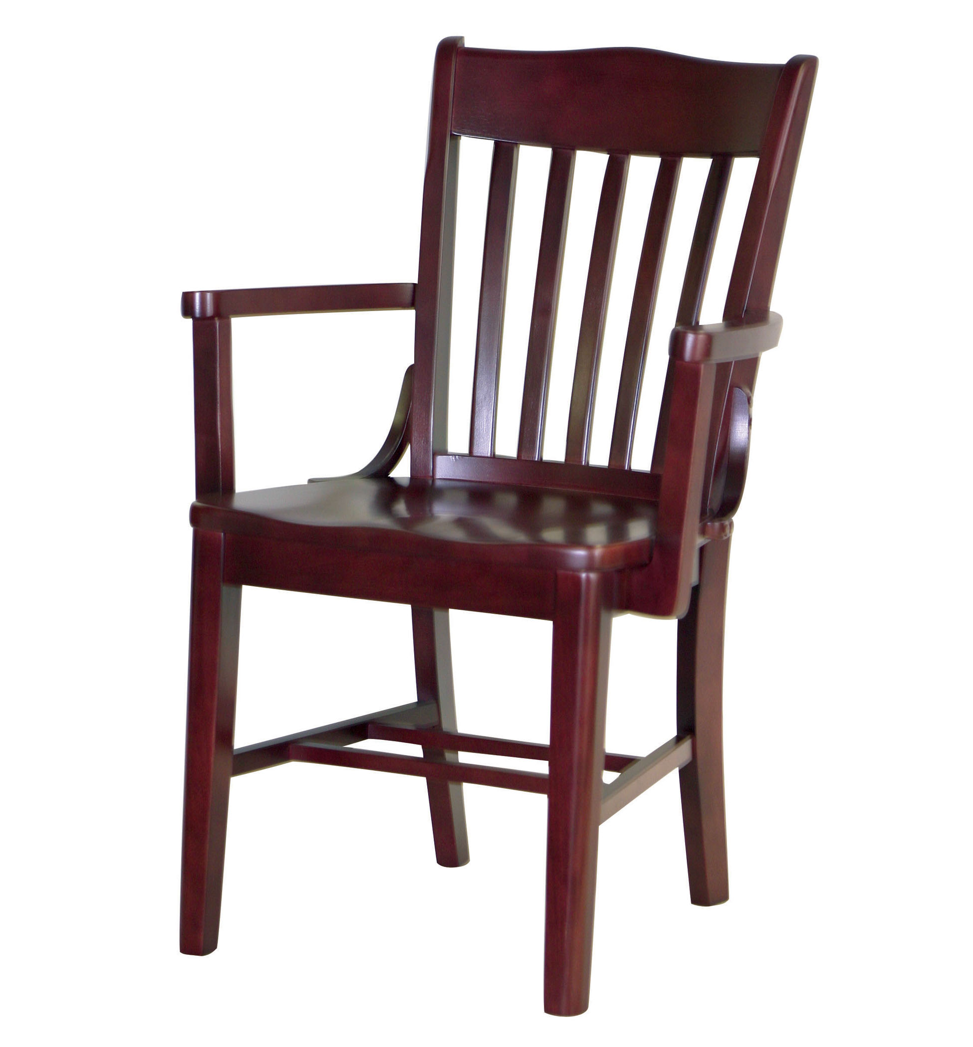 Wooden Arm Chair 7035 1 Wood Arm Chair