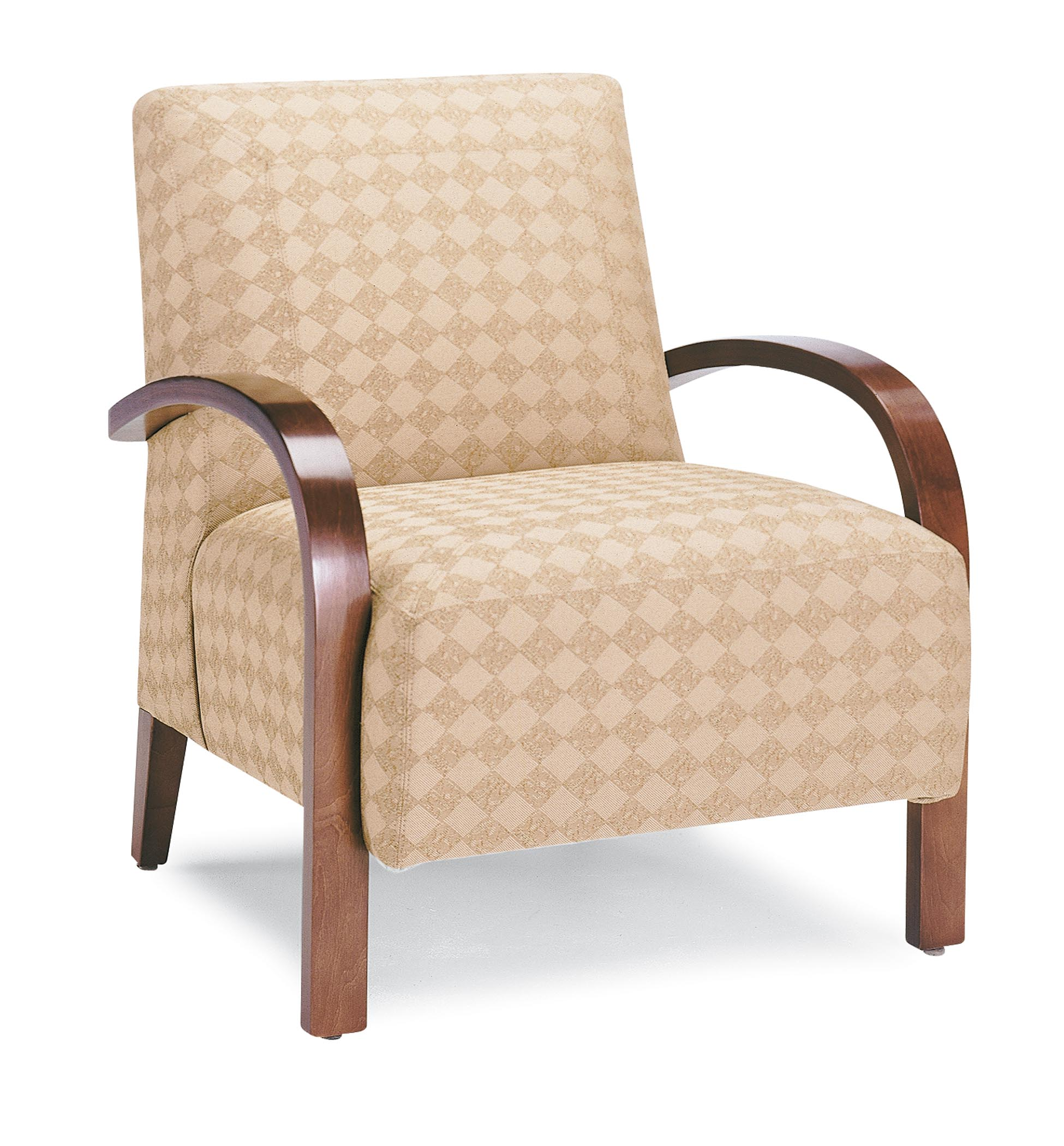 Wooden Arm Chair 7240 Wood Arm Chair