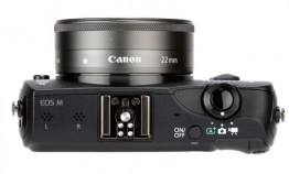 Top View of Canon EOS M