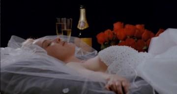 A daydream of Dawn in a wedding dress
