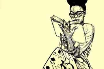 reading artwork introversion