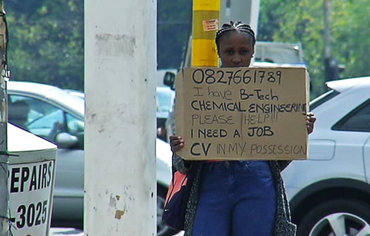 anthea malwandle unemployed jobseeker