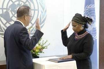 United Nations Women Executive Director Phumzile Mlambo-Ngcuka