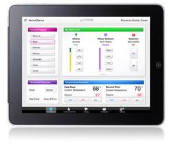 Lutron Radiora2 iPad Control Application