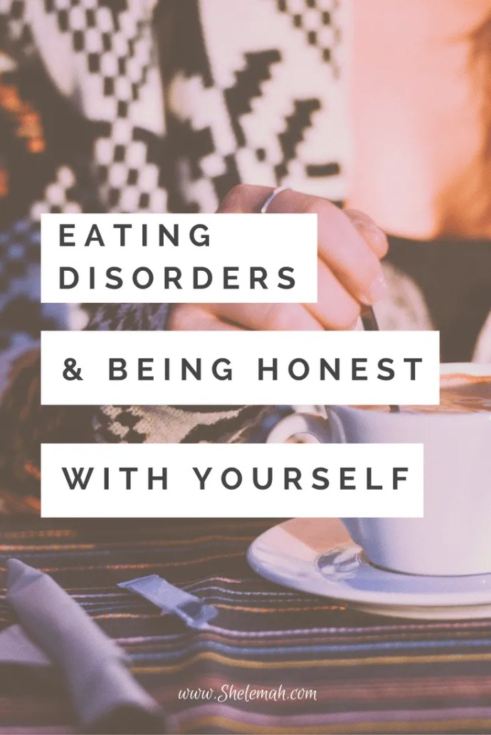 Healing from an eating disorder starts with being honest with yourself. Hear one woman's testimony of freedom in this guest post #eatingdisorders #disorderedeating #selfcare