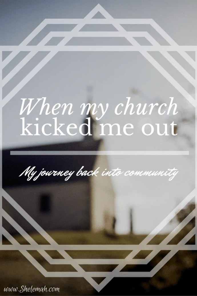 Getting hurt by the church is a far too familiar story. Here how I recovered after I got kicked out. #churchhurt