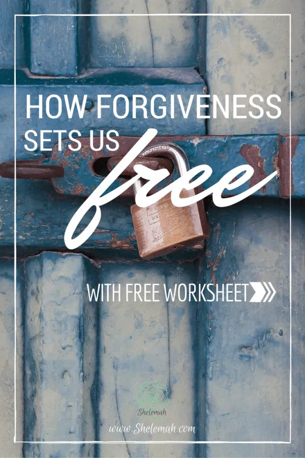 Learn what forgiveness does and does not mean and how it can set you free. #selfcare #forgiveness