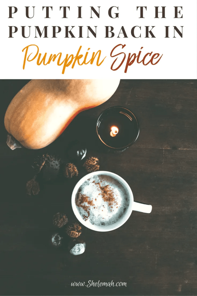 Put the pumpkin back in your pumpkin spice! All things latte and fall don't always have the real ingredients in them. Learn how to make sure you're getting real pumpkin in your pumpkin spice delicacies. #pumpkinspice #psl