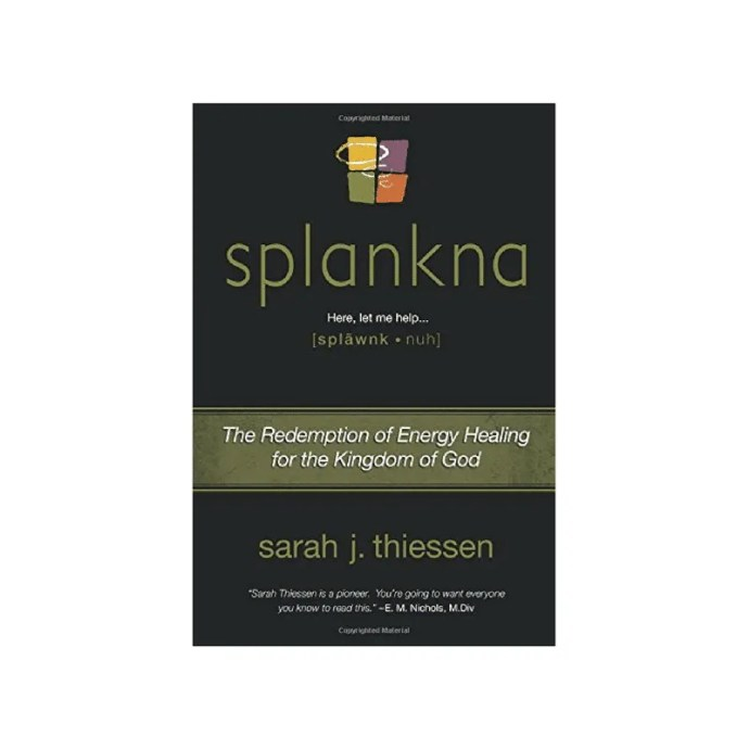 Splankna: The Redemption of Energy Healing for the Kingdom of God by Sarah Thiessen