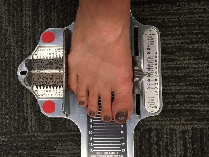 Name Of The Foot Measuring Device : How to find your chaco size for good foot health shelemah