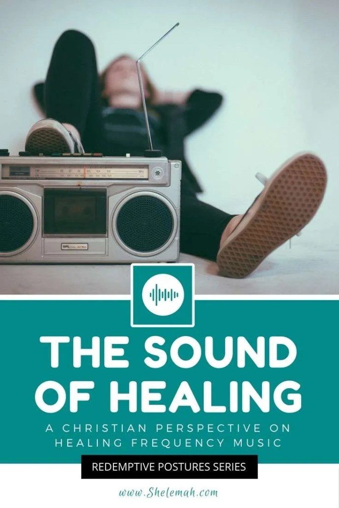 A Christian view of healing frequency music and how sound can be healing to the body, mind, and spirit #musictherapy #healingfrequency