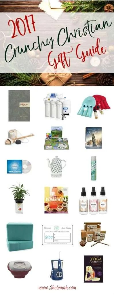 Crunchy Christian Gift Guide #giftguide