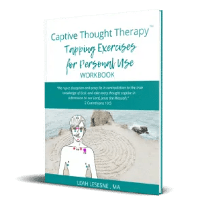 Captive Thought Therapy tapping exercises for personal use workbook